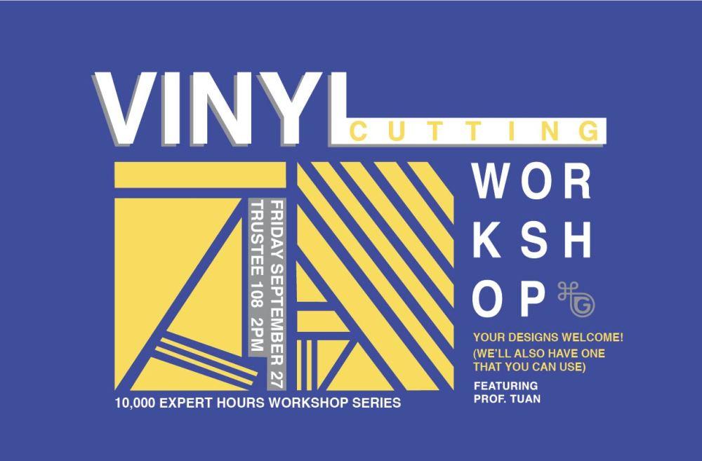 VINYL CUTTING WORKSHOP '13-02