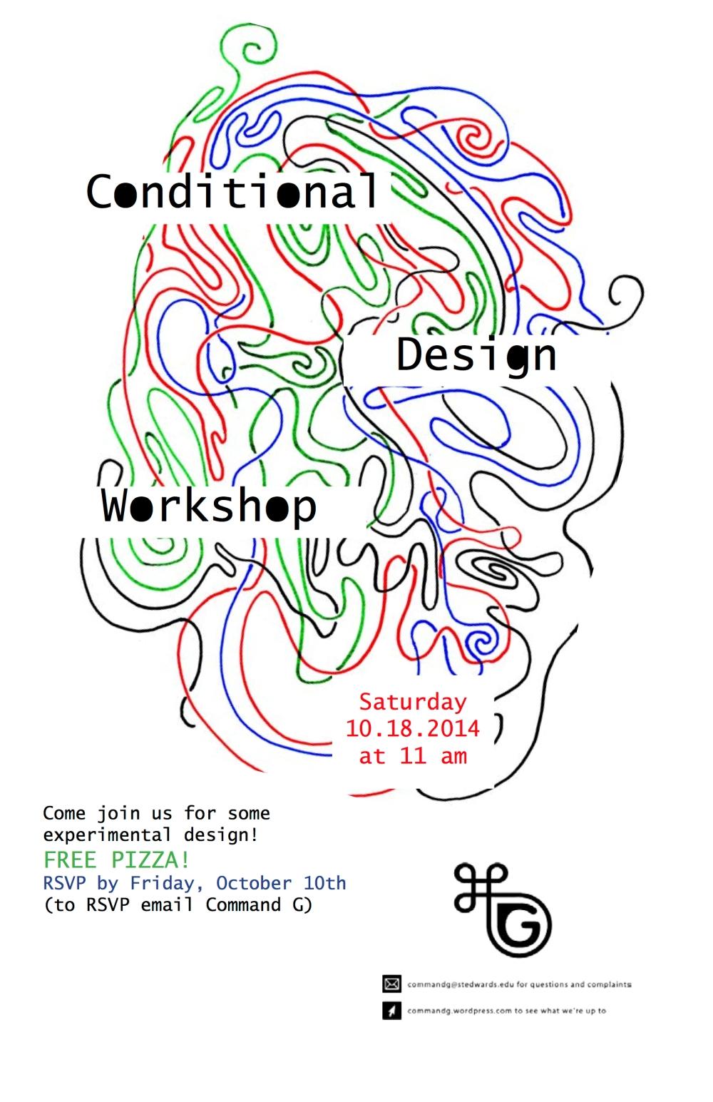Conditional Design Workshop